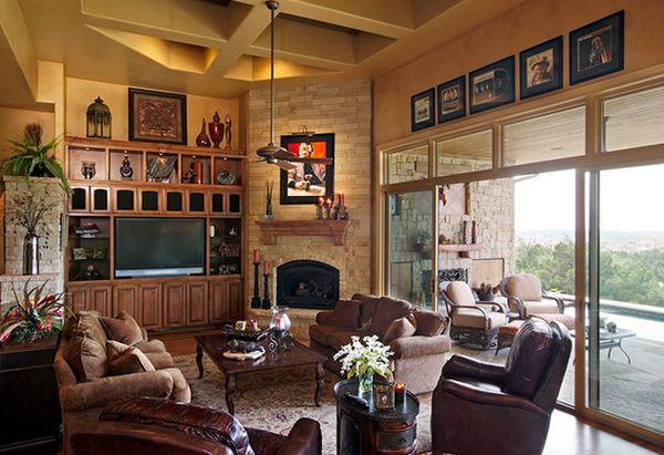 Living Room With Corner Fireplace 100 fireplace design ideas for a warm home during winter