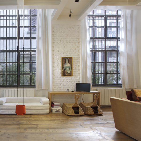 30 Amazing Apartments With Brick Walls: Former Soap Factory Converted Into Beautiful Loft