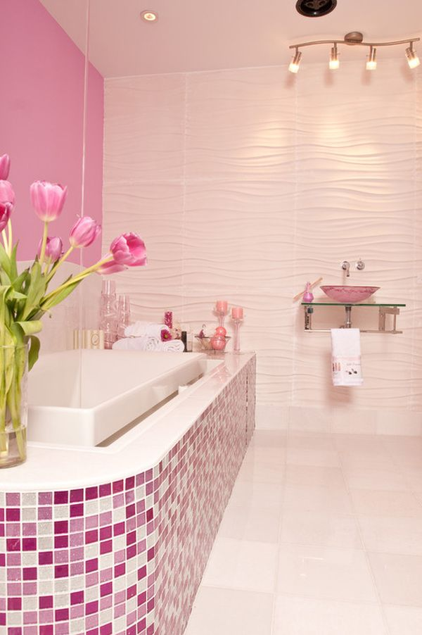 pink bathroom decorating ideas decorating with 80 s style ideas and inspiration 21280