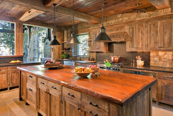 Top 10 Beautiful Rustic Kitchen Interiors For A Warm