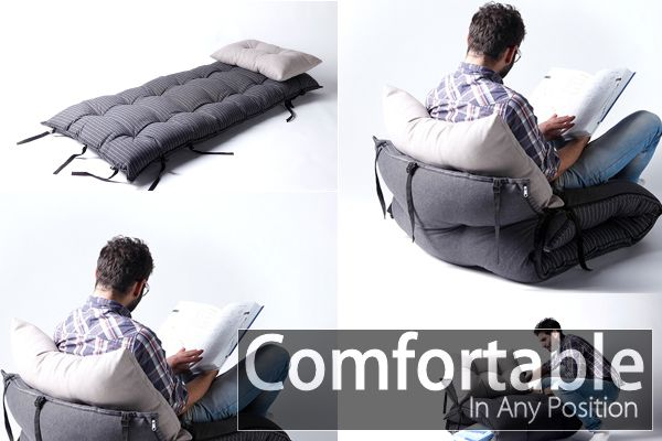 The Multifunctional Ted Bed U2013 Comfortable In Any Position