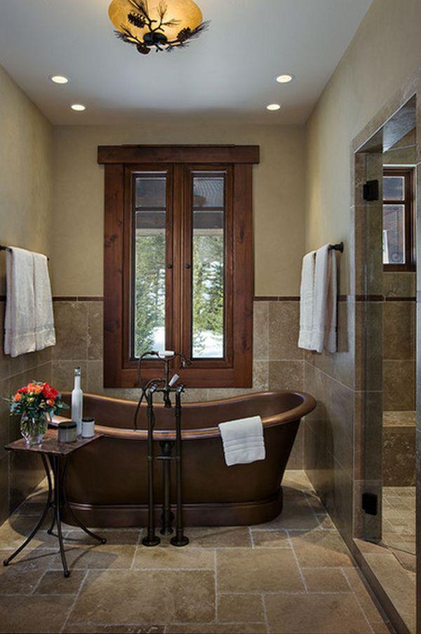 15 Copper Bathtubs Create A Warm Glow Focal Point In The Bathroom
