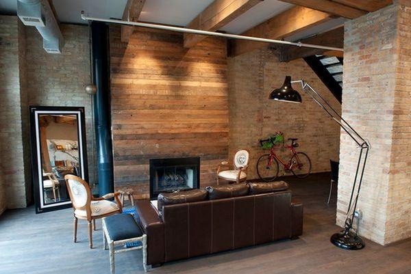 Wood Paneled Fireplaces
