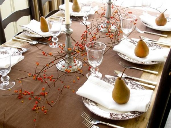 ... View in gallery ... : setting thanksgiving table - pezcame.com