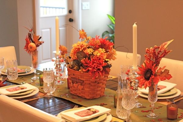 30 thanksgiving table setting ideas for a festive d cor Decorating thanksgiving table