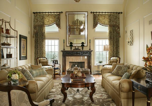 traditional window treatments living room 9 treatments for high windows 21166