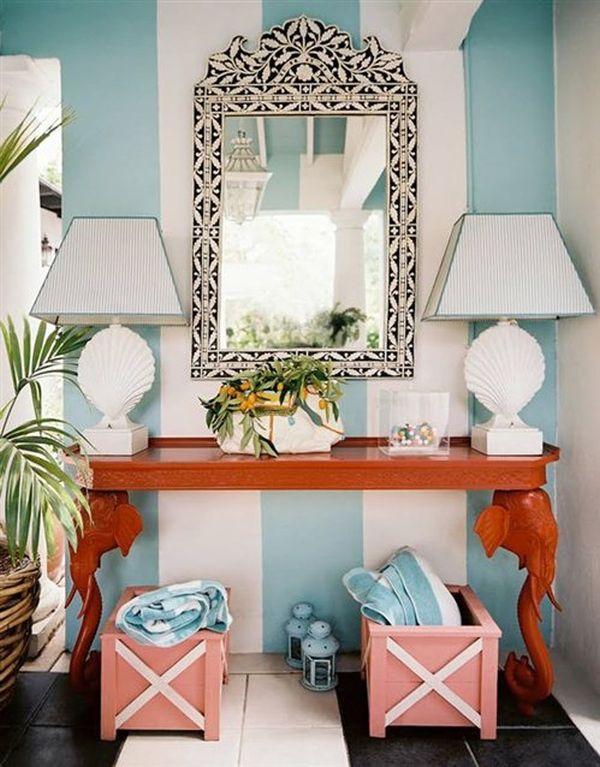 How To Achieve A Tropical Style Enchanting Palm Beach Interior Design Decoration