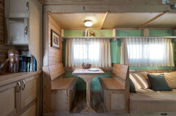 A Truck Gets Transformed Into An Ergonomic House On Wheels