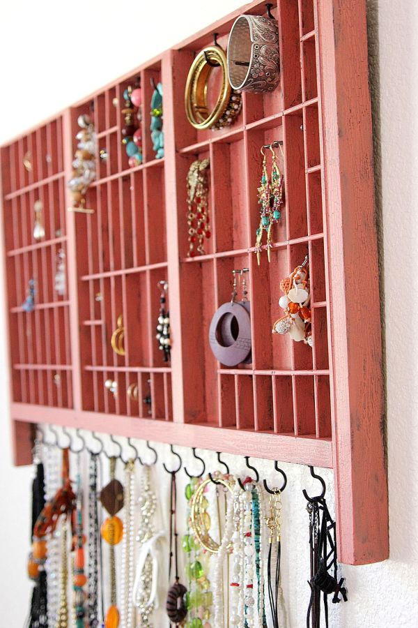 40 Ways To Stay Organized With DIY Jewelry Holders New How To Make A Jewelry Stand Display