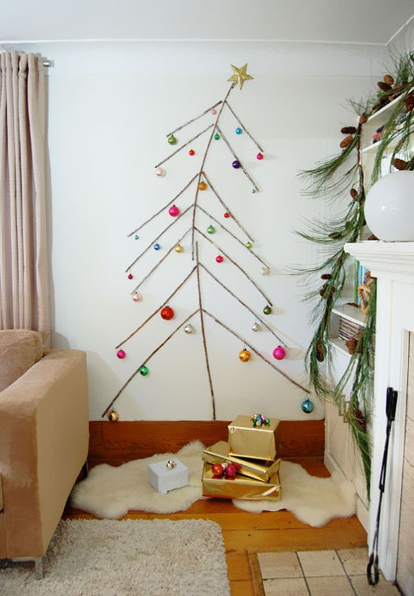 Non Traditional Christmas Tree.15 Non Traditional Christmas Tree Ideas