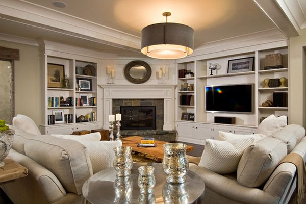 100 Fireplace Design Ideas For A Warm Home During Winter Living Room With Corner Decorating