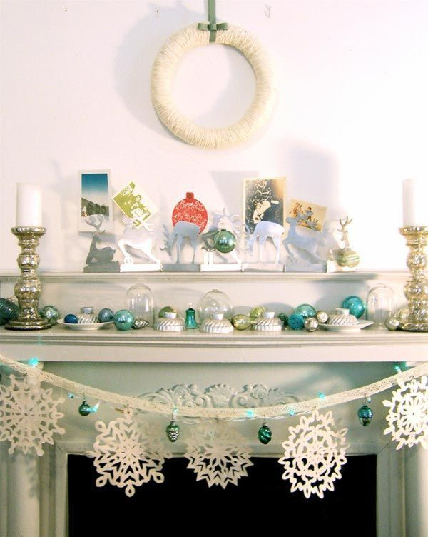 10 eclectic eyes - Frosty Blue Christmas Decorations