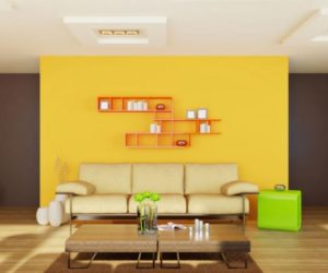 Mustard And Chocolate Covered Rooms Ideas Inspiration