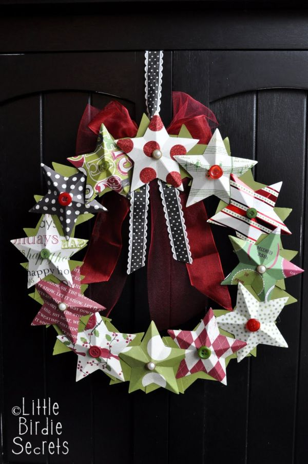 22 beautiful and easy diy christmas wreath ideas for Christmas decorations to make yourself