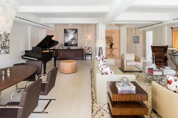 expansive and glamorous apartment in a pre war building