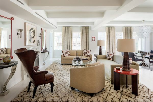 Expansive And Glamorous Apartment In A Pre-War Building From New York