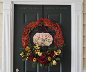 22 Beautiful and Easy DIY Christmas Wreath Concept