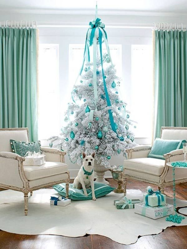 have yourself an icy little christmas refreshing blue and aqua holiday dcor