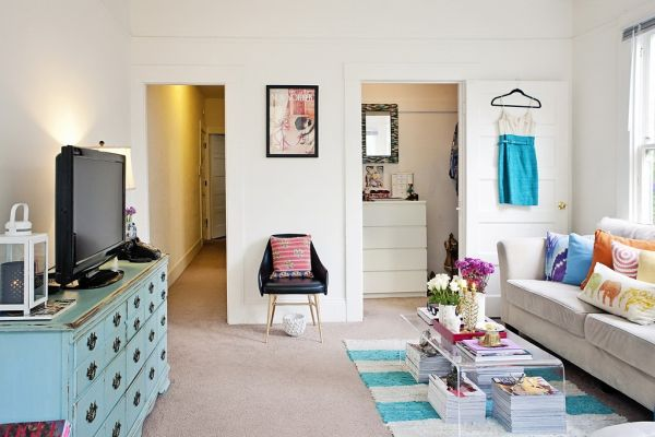 Genial Small San Francisco Studio With Quirky Interior Design Details