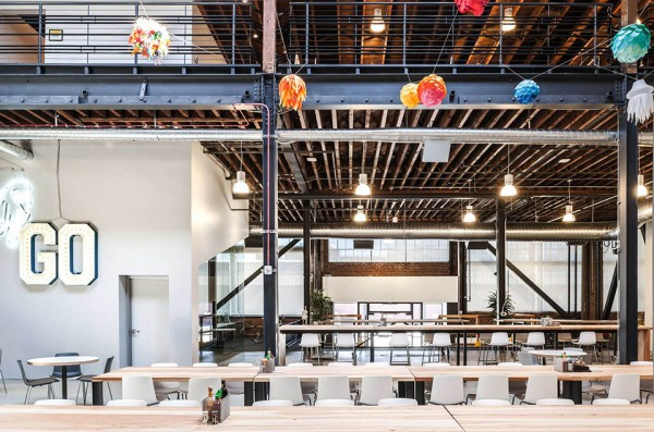 Pinterest\'s San Francisco Headquarters – A Restored Warehouse With ...