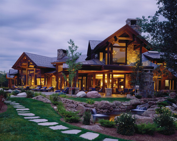 Luxury bavarian style retreat at the base of red mountain for Most expensive homes in colorado