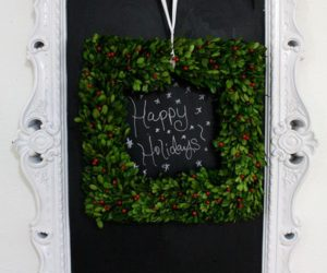 15 Creative Chalkboard Christmas Craft Ideas