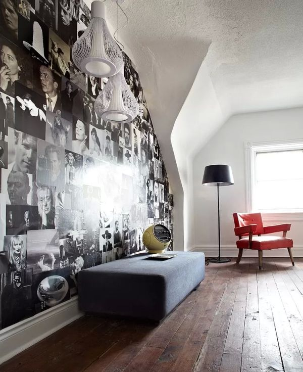 Wall Decor Placement Ideas : Photo collages without frames ideas and inspiration