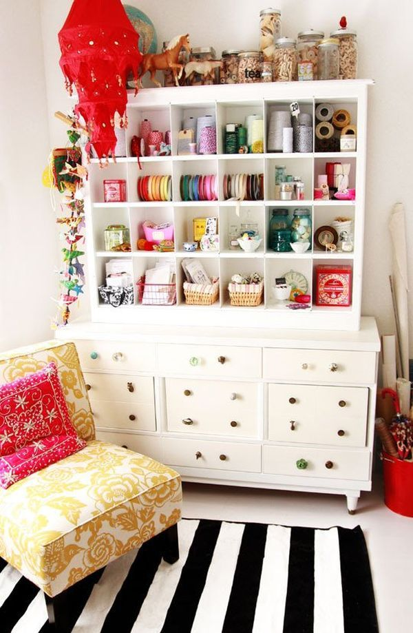 View In Gallery. Keep A Piece Of Furniture As Your Craft Room ...