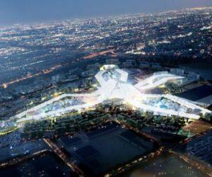 ... A Futuristic Design Proposed By HOK For The Dubai World Expo 2020