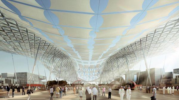 A Futuristic Design Proposed By Hok For The Dubai World