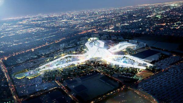A Futuristic Design Proposed By HOK For The Dubai World Expo 2020