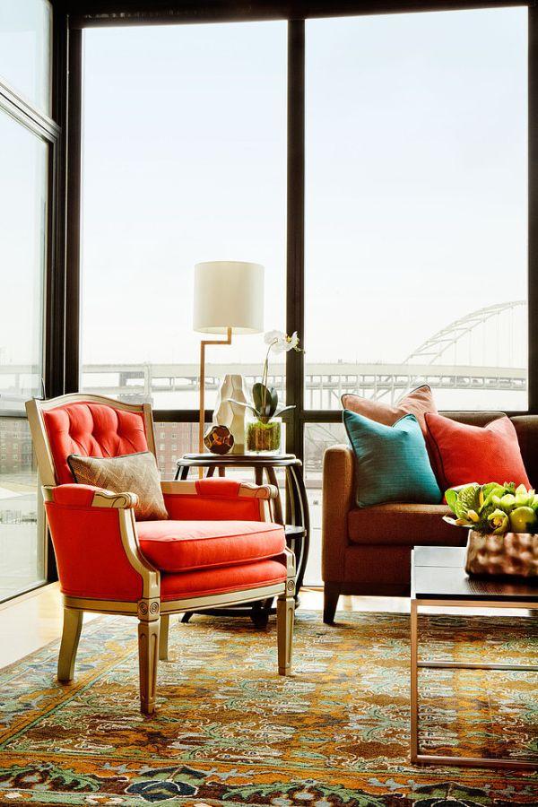 Window Interior Design large windows and how to decorate around them
