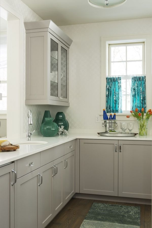 Shades Of Grey The New Neutral Foundation For Interiors - Soft gray kitchen cabinets