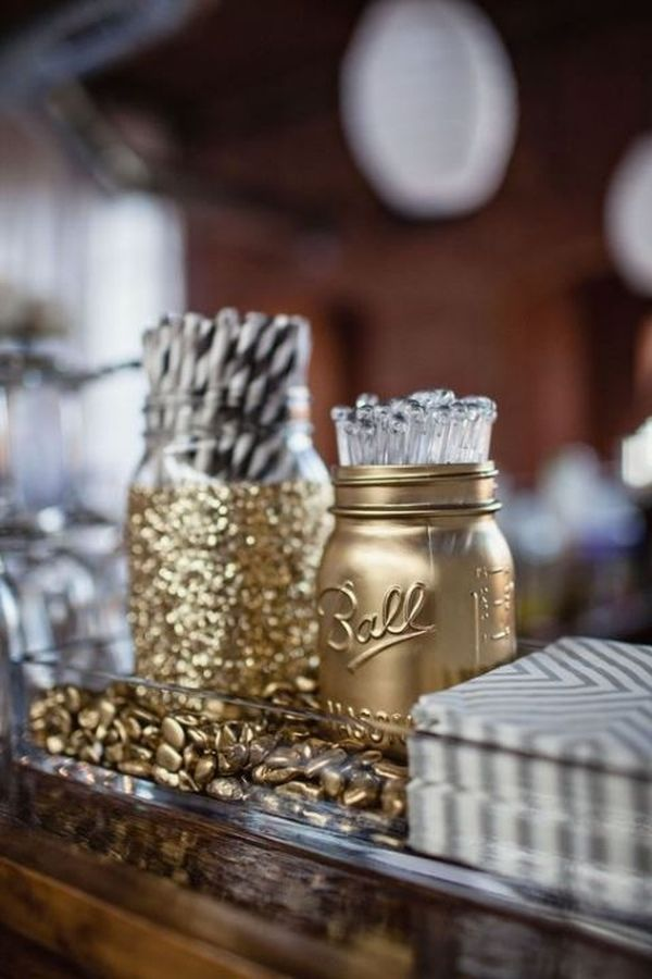 Mason Jar Party Decorations Mesmerizing 10 Ways To Add Sparkle & Shine To A New Year's Eve Party Design Decoration