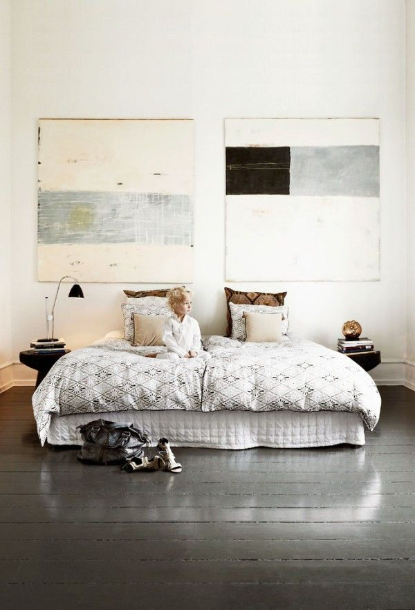 50 shades of grey the new neutral foundation for interiors - Pinterest camere da letto ...