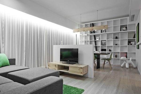 Tiny Hong Kong Apartment Featuring A Very Creative And Functional Interior  design