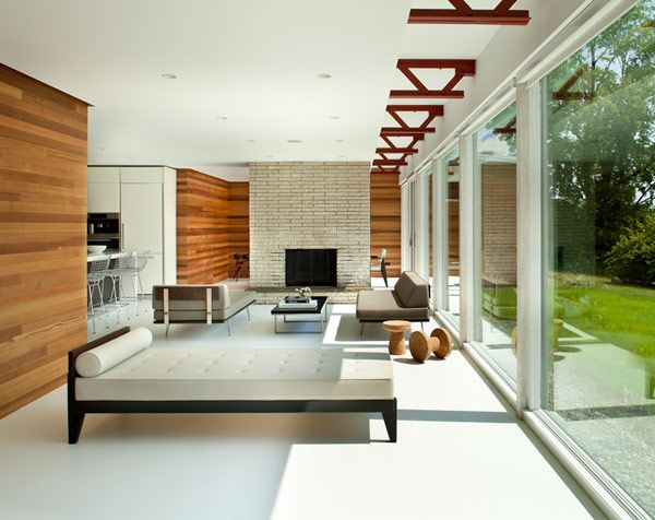 25 open concept modern floor plans for Modern house design concepts