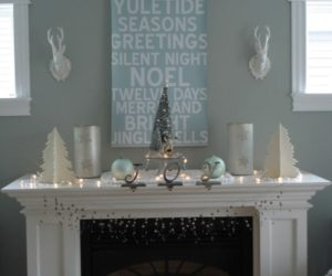 Have Yourself an Icy Little Christmas: Refreshing Blue and Aqua Holiday Décor