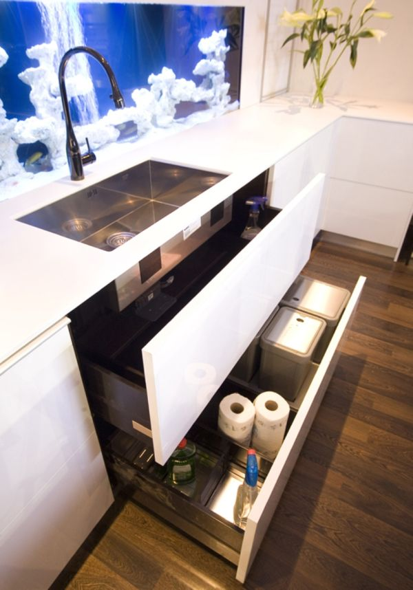 Essential space saving tips for the kitchen doubled up drawers workwithnaturefo