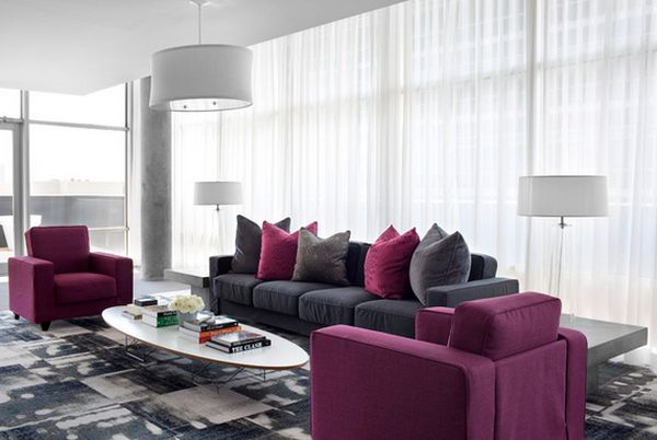 Modern Furniture Colors pantone has announced 2014's color of the year: radiant orchid