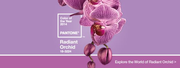 Pantone Has Announced 2014's Color Of The Year: Radiant Orchid