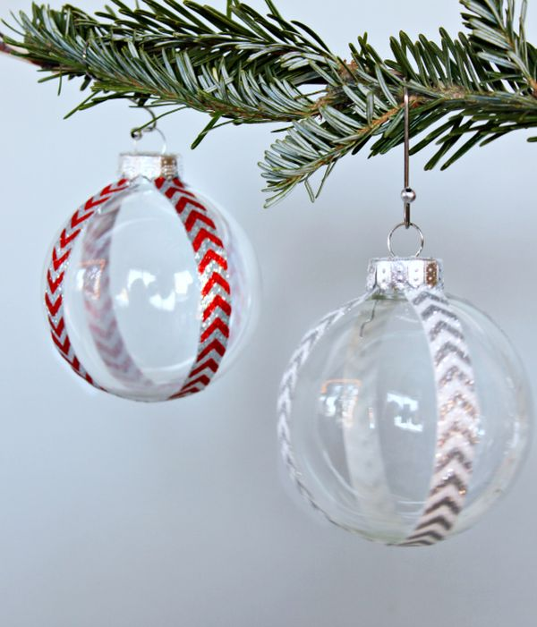 Decorative Christmas Ball Ornaments Mesmerizing 25 Diy Crafts Featuring The Simple Christmas Ball Ornament Design Ideas