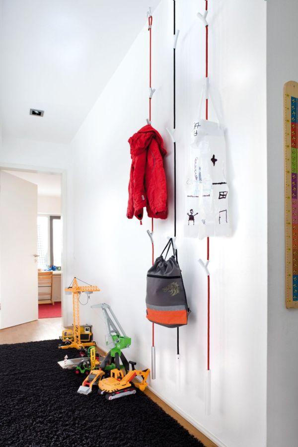 clever creative coat hanger ideas. Black Bedroom Furniture Sets. Home Design Ideas