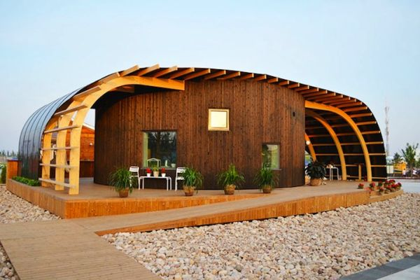 Swedish Solar-Powered Home Designed By The Students From Chalmers University