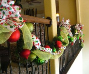 Decorate The Stairs For Christmas – 30 Beautiful Concept