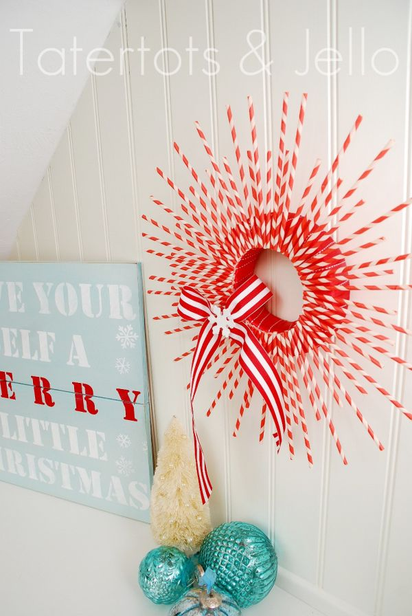 22 Beautiful and Easy DIY Christmas Wreath Ideas