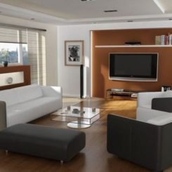 How To Secretly Arrange Furniture Around The TV Part 9