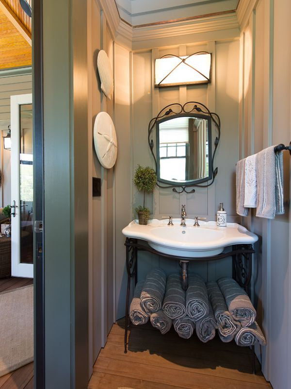 Pedestal Sink Storage Under. How To Fit The Most Storage Into A Small  Bathroom