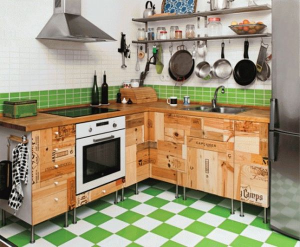 20 best diy kitchen upgrades view in gallery solutioingenieria Gallery