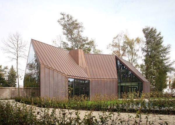 Copper clad house